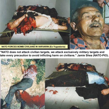 NATO troops massacre Yugoslav Muslims