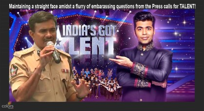 Police Commissioner CV Anand Has TALENT